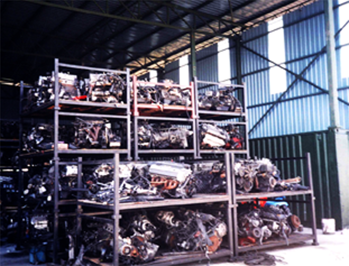 2000 Imported UK Used Spare Parts